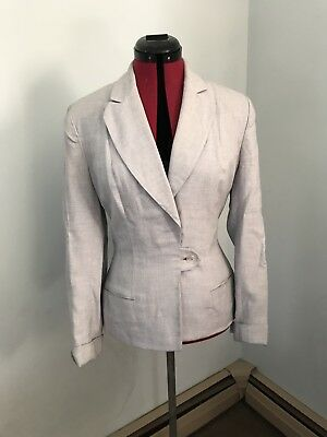 Grey As Is 1940's Womens Suit Coat