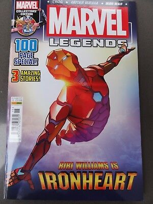 Marvel Legends Vol 3 # 15 Oct 17 IronHeart, Captain America & Thor! 100 pages