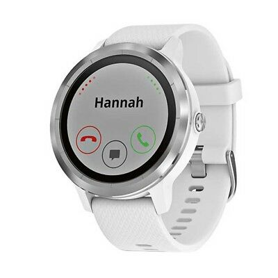 NEW NEW Garmin Vivoactive 3 Watch, White from Rebel Sport   from Rebel Sport