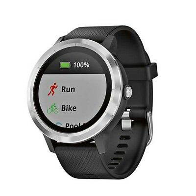 NEW NEW Garmin Vivoactive 3 Watch, Black from Rebel Sport   from Rebel Sport