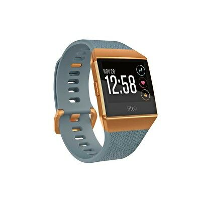 NEW NEW Fitbit Ionic Watch, Blue/Orange from Rebel Sport   from Rebel Sport
