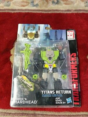 Hasbro transformers titans return Furos and hardhead