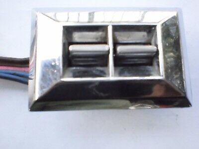 Gm Dual  Power Window Switch With Pigtail