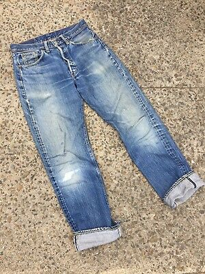 Vintage 60s LEVIS BIG E 501 Denim Jeans Selvedge (29 x 31)