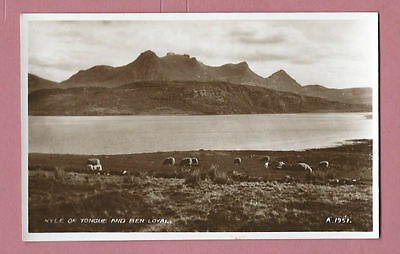 Unused Vintage Valentine's Postcard - Kyle Of Tongue And Ben Loyal