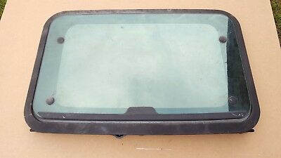 Land Rover Discovery 1 & 2 Sunroof Frame With Glass Free P&p
