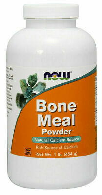 Now Foods Bone Meal, Powder, 454 g( 1lb), Calcium
