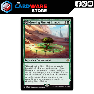Growing Rites of Itlimoc // Itlimoc, Cradle of the Sun | Ixalan | Magic the Gath