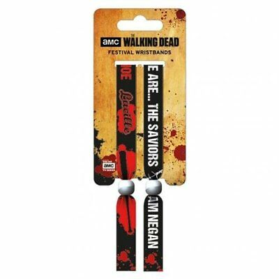 The Walking Dead Festival Wristbands Official Merchandise