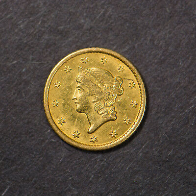 1851-O One Dollar $1 Gold Liberty Head ** New Orleans Mint