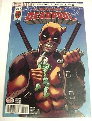 Despicable Deadpool #287 Regular Cover Marvel Legacy $3 Flat Rate Shipping!