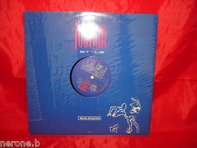"Disco 33 Giri 12"" Italian Style Anything For You Trivial Voice Isp1284  #w66"