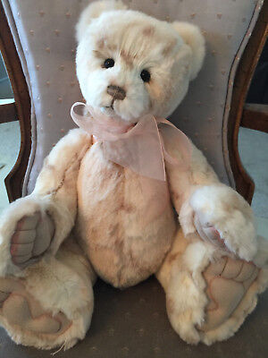 """Jane * Charlie Bears 2016 Plush  * 15"""" New With Tags"""
