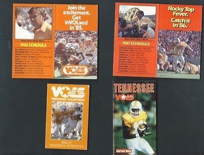 College  Football Schedule Lot - Tennessee Vols