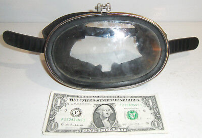 Vintage U.S. Divers Aqua Lung Dive Mask Decor Scuba Snorkeling Swim Goggles