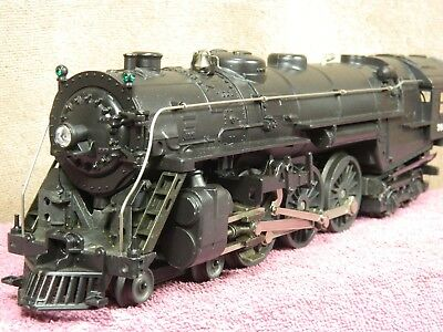 LIONEL SCALE #6-8406 NEW YORK CENTRAL HUDSON STEAM LOCOMOTIVE w/WHISTLE & SOS