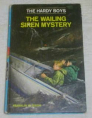 Hardy Boys 30: Wailing Siren–Revised–Author'S Name Missing–Blue-Spine Cover–Htf