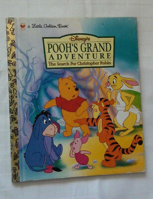 Pooh's Grand Adventure - Disney - The Search For Christopher Robin - Board Book
