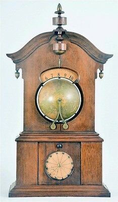 """L. E. Whiting, Saratoga Springs, NY, """"Timby Solar Time Piece"""". 8 day,... Lot 258"""