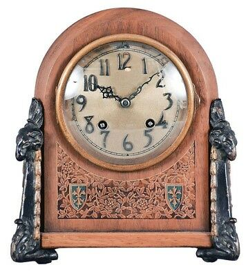 Chelsea Clock Co., Boston, Mass., 8 day, time and house strike spring... Lot 383