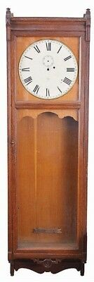 """Case and dial only- Seth Thomas Clock Co., """"Regulator No. 31"""" in old ... Lot 312"""