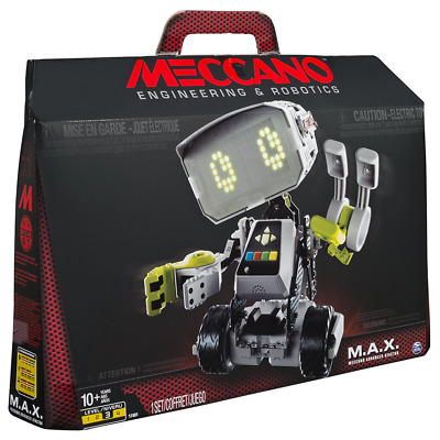 *Meccano M.A.X Max Robotic Interactive Toy Artificial Intelligence Robot NEW*