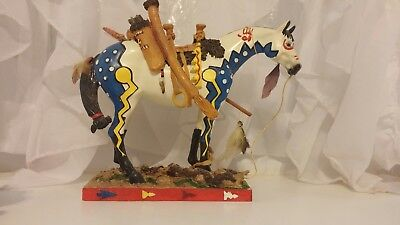 The Trail of Painted Ponies Woodland Hunter