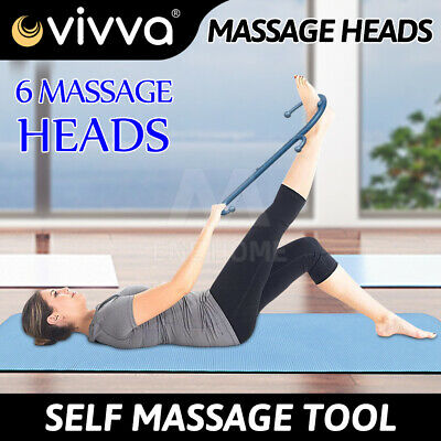 Theracane Trigger Point Self-Massage Tool Body Muscle Deep Pressure