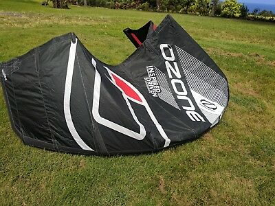Used 2017 Ozone Enduro 7m kite freeride kiteboarding kitesurfing wave freestyle
