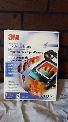 3M Transparency Film for Inkjet Printers CG3480 50sheets