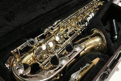 Yamaha YAS-23 Alto Saxophone Made in Japan w/Case Mpc Very Good Condition