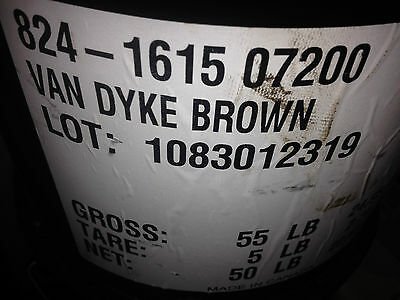 Chroma-Chem 824 - Van Dyke Brown Colorant.  50 lbs - 5 Gallon Can