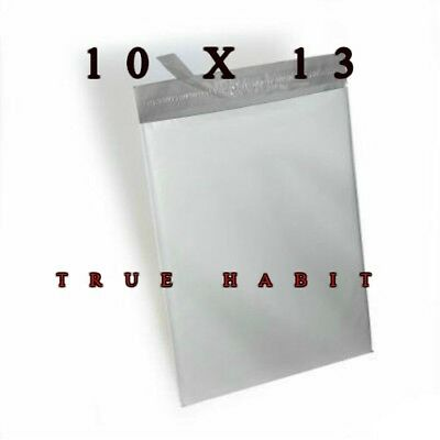 100 Pcs Strong 10 X 13 Poly Mailer Shipping Bags Envelopes Plastic Self Seal