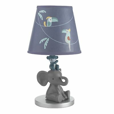 Lambs & Ivy Animal Crackers Lamp with Shade & Bulb