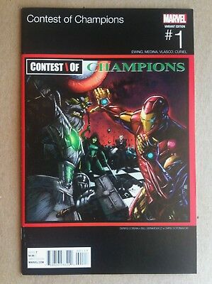 Contest Of Champions #1 Denys Cowan Hip-Hop Variant Cover Vf/nm 1St Printing Gza