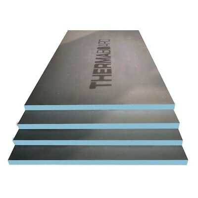 THERMABOARD Insulation Tile Backer Board 10MM: 2400mm x 600mm - Box of 6