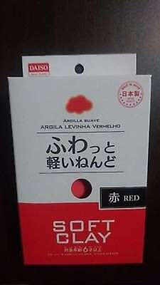 DAISO DIY Arcilla Suave Lightweight  Clay Red MADE IN JAPAN Free shipping!