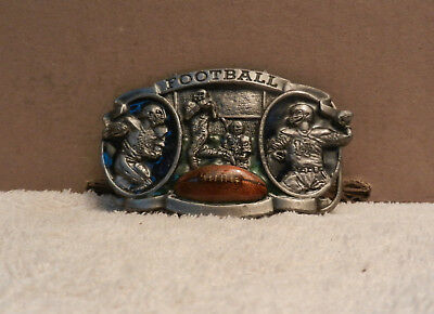 BELT BUCKLE Sport of American Football USA 1983 - Gridiron Vintage