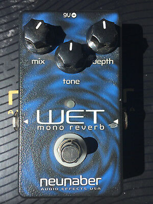 Neunaber Wet Reverb Pedal - Version 4 - True Bypass