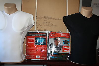 Wholesale Padded Sports Compression Shirt PACEMAKER Chest Shoulder PROTECTION