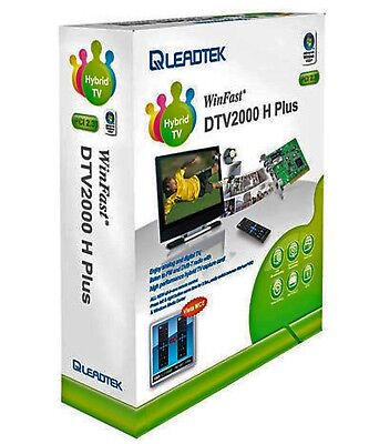 Leadtek Winfast DTV2000 H Plus Tv Tuner Card PCI ___Brand New___