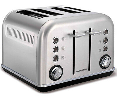 Morphy Richards Brushed SS 4 Slice Toaster - 242026
