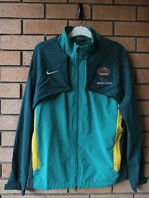 Australia Athens 2004 Olympic Games Nike Men's Podium Jacket/vest Size Xl Rare!