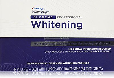 Crest3D PROFESSIONAL SUPREME 5, 10, 15, 20 - Teeth Whitening Kit