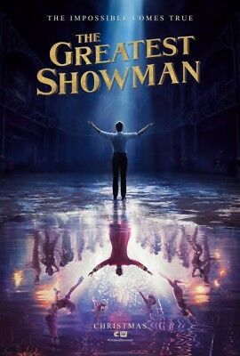 Greatest Showman 2017 Original Movie Poster Double Sided 27x40