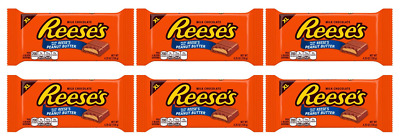 902105 6 x 120g XL BARS OF REESE'S MILK CHOCOLATE FILLED WITH PEANUT BUTTER *USA