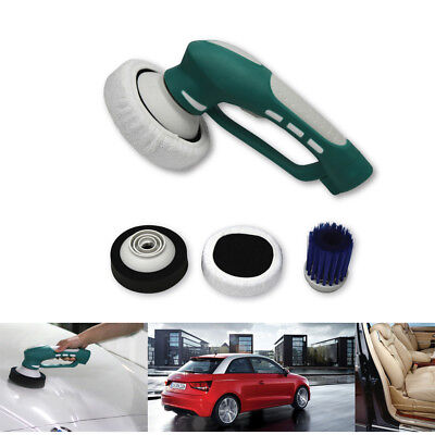 Car Van Cordless Polisher Buffer Sander Polishing Machine Kit 3 Heads Pro Pad UK