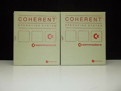 Commodore, Coherent, Volume 1 & 2, Manual for the OS, NO SOFTWARE, ( ENG ) #V-39
