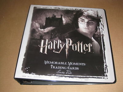 Harry Potter Memorable Moments Series 2 Trading Card  Binder by Artbox-