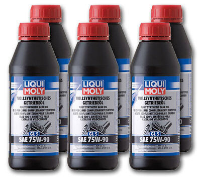neu liqui moly 1 liter getriebe l vollsynthetisch gl5 75w 90 1414 p000232 eur 13 90. Black Bedroom Furniture Sets. Home Design Ideas